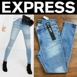 NEW EXPRESS HIGH WAISTED PERFORMANCE STRETCH JEAN